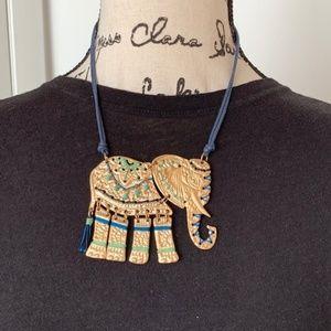 Jewelry - Elephant statement necklace
